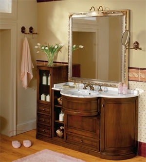 Мебель Мебель для ванной комнаты TUDOR комп. 6 - m113.ru - Прайс-лист. Цены на мебель для ванной Laufen, Epoque